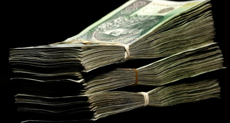 Deficyt budżetu na koniec sierpnia wyniósł 25 mld 860,4 mln zł