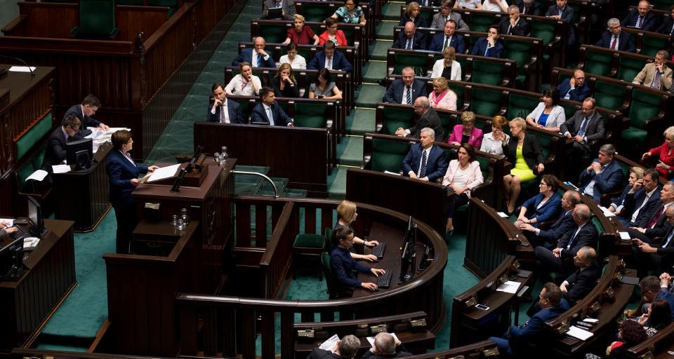 Prokuratura umorzyła śledztwo ws. obrad Sejmu w Sali Kolumnowej