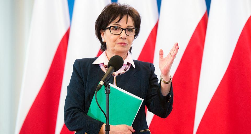 Zalewska do uczniów: bądźcie obywatelami Polski, Europy i świata