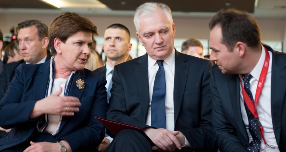 Jarosław Gowin popiera stanowisko prezydenta ws ustaw sądowych