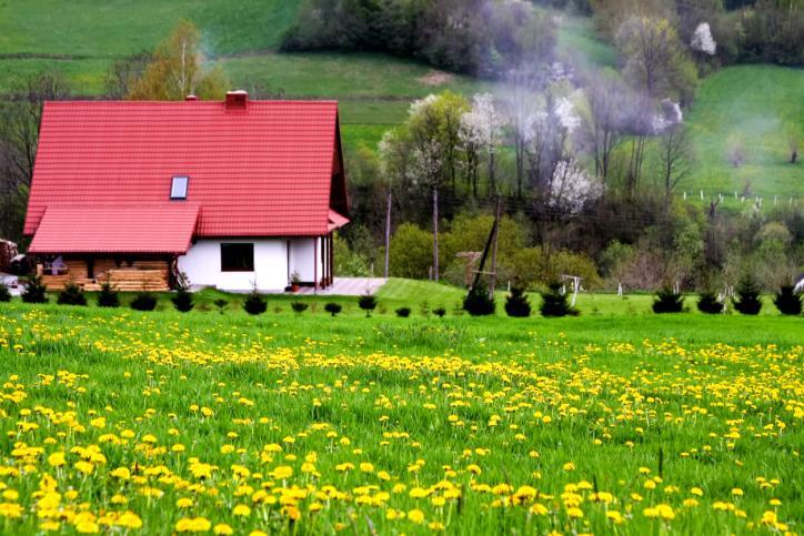 Zabudowa zagrodowa to dom i budynki gospodarskie