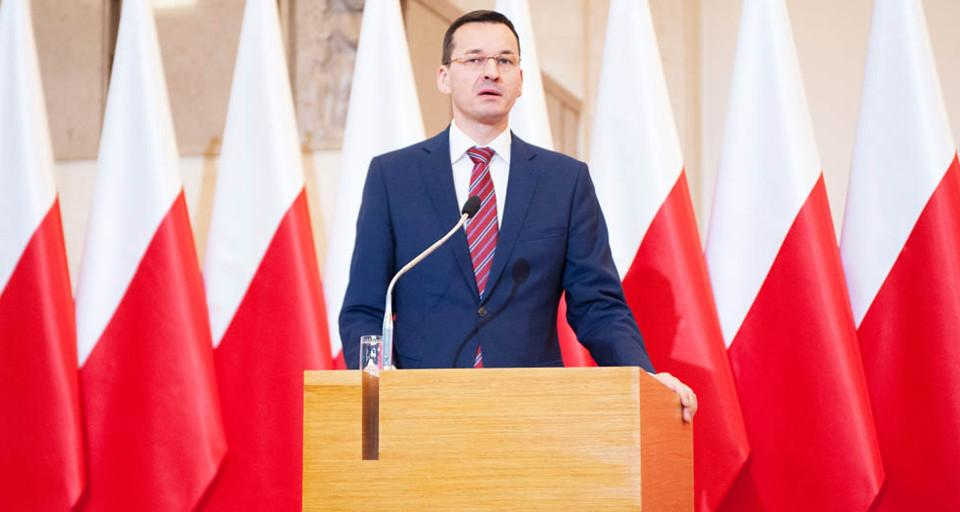 Premier Morawiecki: Mieszkanie plus sztandarowym zadaniem rządu