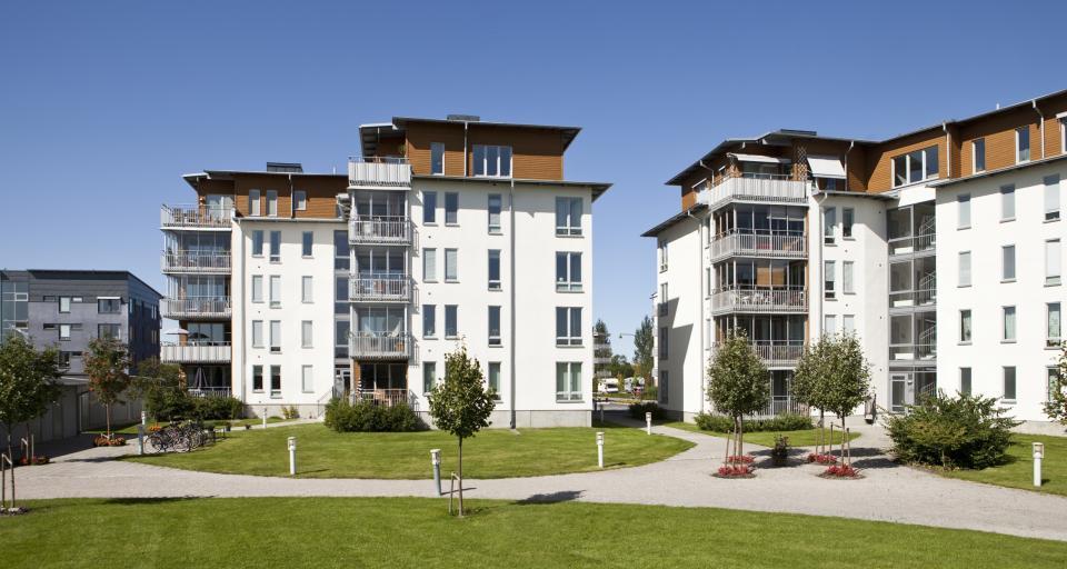Gdynia: wiecha na budynku z programu Mieszkanie plus