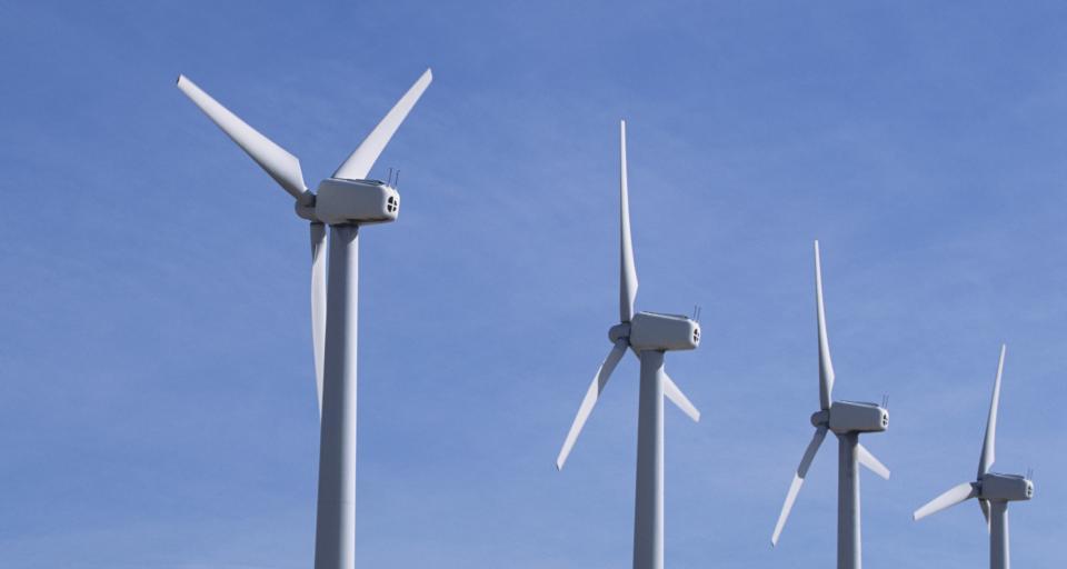 Mieszkańcy protestują przeciwko turbinom wiatrowym