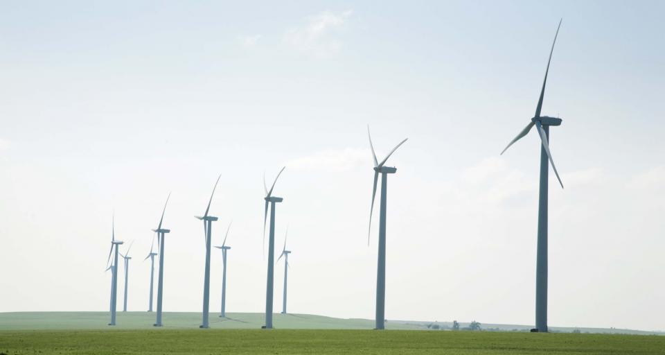 Największa w Europie lądowa farma wiatrowa podłączona do sieci