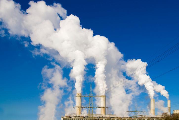 WMO: rekordowy poziom gazów cieplarnianych w 2013 r.