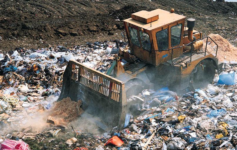 E-nos zbada powietrze w przedsiębiorstwie gospodarki odpadami