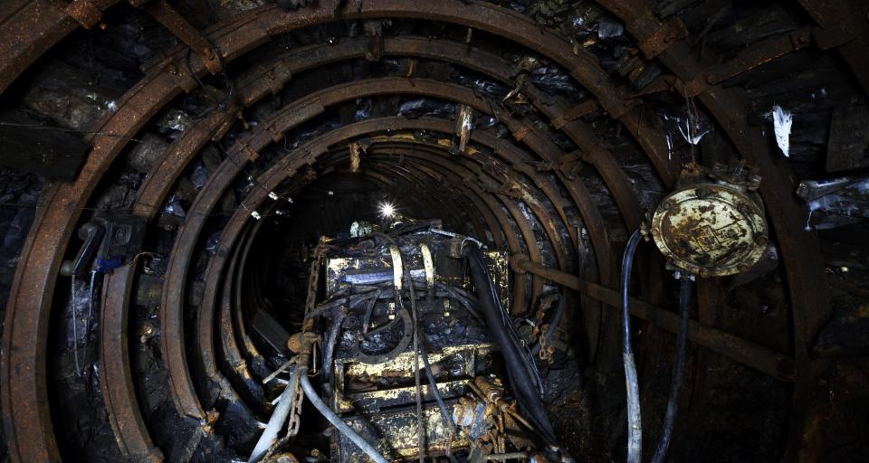 Akcja w kopalni: rozpoczęła pracę wiertnica