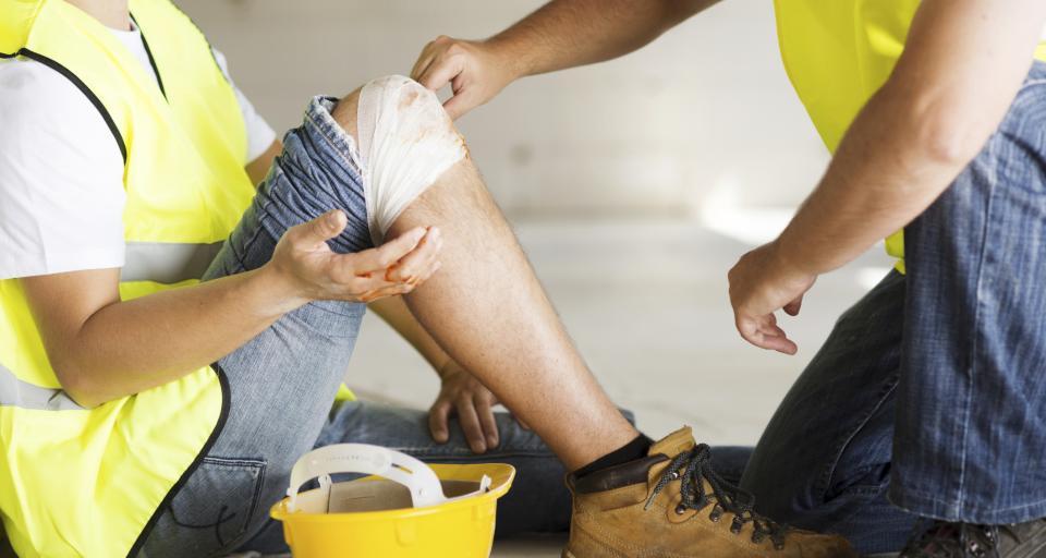 Mniej poszkodowanych w wypadkach przy pracy