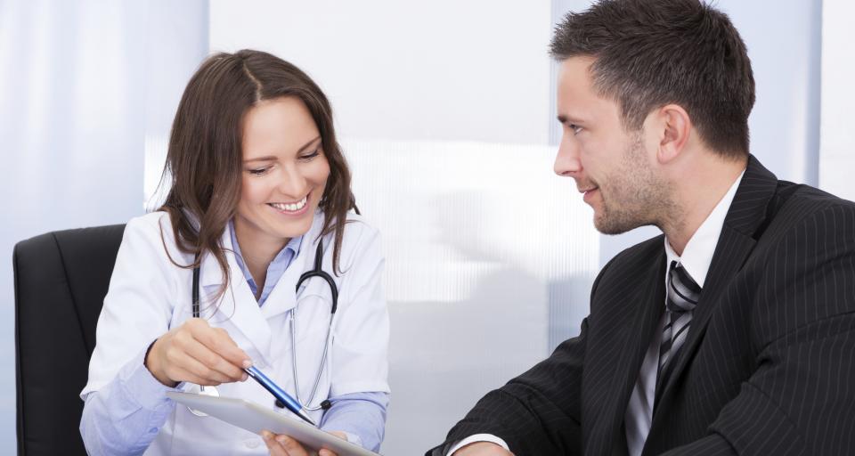 Badania: 21 procent mężczyzn chodzi do lekarza raz w roku lub rzadziej
