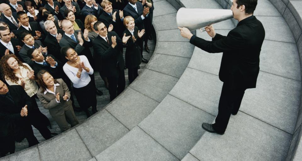 Związkowcy PGE protestują przeciwko zmianom w strukturze koncernu