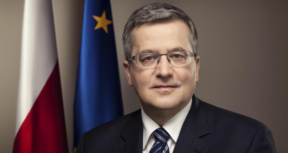 Bronisław Komorowski laureatem Super Wektora