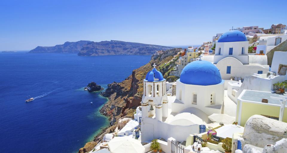 Greckie wyspy odcięte od świata - stajk żeglugi promowej