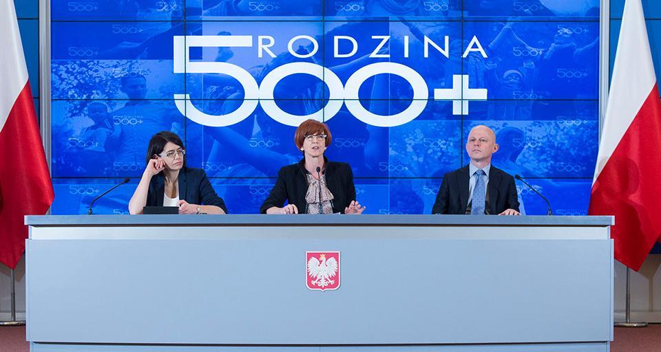 """Minister Rafalska: nie pracujemy nad rozszerzeniem programu """"500 plus"""""""
