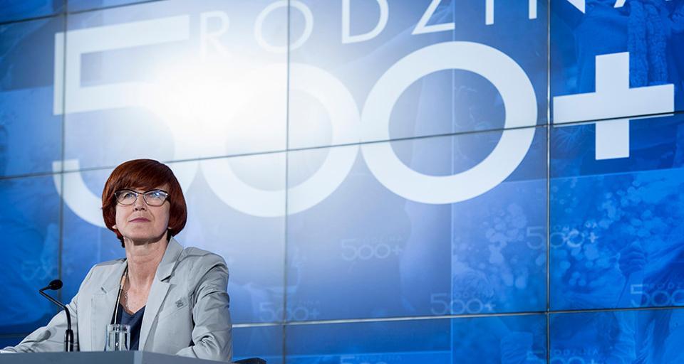 Minister Rafalska: Nikt nie straci 500 plus przez podwyżkę płacy minimalnej