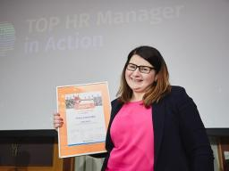 TOP HR Manager in Action 2018 wybrany
