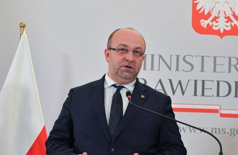 Hejt przeciw sędziom - dymisja wiceministra Piebiaka