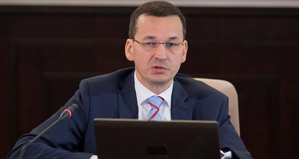 Morawiecki: Pakiet badań dla każdego Polaka po 40. roku życia i niemal 1 mld zł na Centrum Onkologii