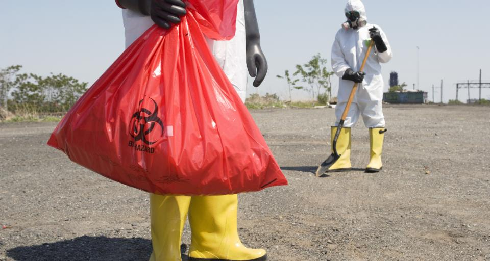 Niebezpieczne odpady z wirusem - branża domaga się zmian