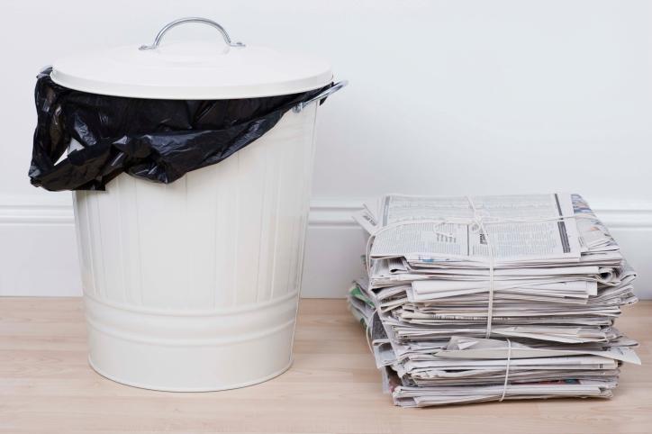 MK i GIS: odpady wytwarzane w miejscach kwarantanny to zwykłe śmieci
