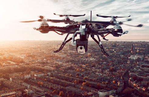 Rządowa agencja wywłaszczy właścicieli aplikacji do zarządzania lotami dronów, by te pomogły w walce z epidemią