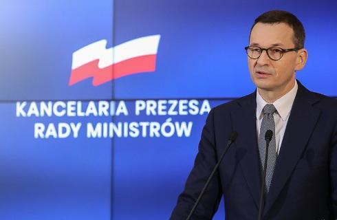 """Morawiecki: 4 maja rusza druga faza """"odmrażania"""" gospodarki"""