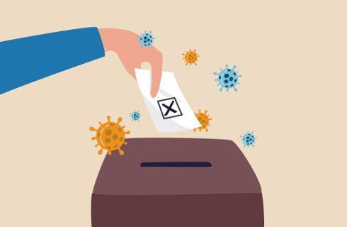 Gminy apelują o wytyczne na wypadek objawów COVID w lokalu wyborczym
