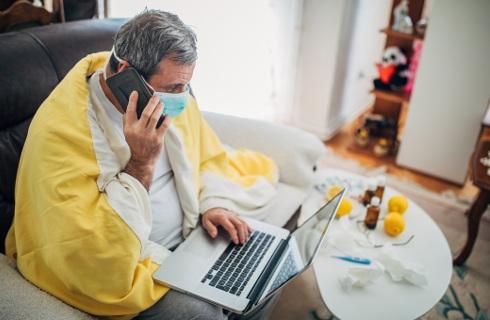 Praca w trakcie domowej izolacji będzie możliwa