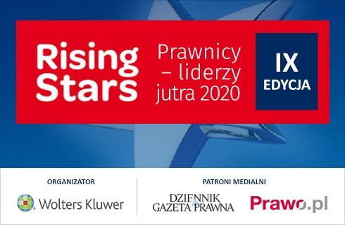 Rising Stars Prawnicy – liderzy jutra 2020 - 15 grudnia ogłoszenie laureatów konkursu